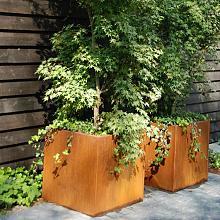 Andes 120x120x60 cm Corten