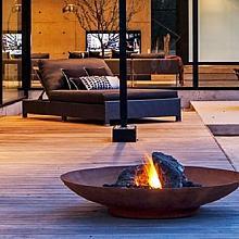 Fire Bowl 150x33 cm Corten
