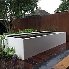 Aluminium Pond 250x125x60 cm ral 7021 / 7035 / 9010