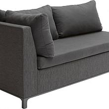 Acro 2-Seater Right Stone Grey