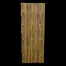 Bamboemat op rol gespleten Naturel 500x200 cm stuk