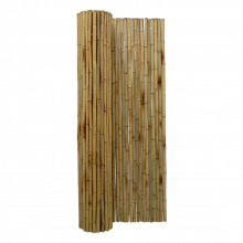 Bamboemat op Rol naturel 250x100 cm stuk