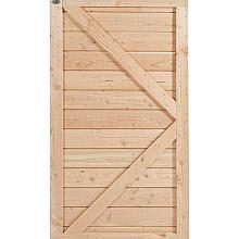 Douglas deur rabat dicht horiziontaal 180x99 stuk
