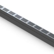 ACO slim-line goot 100 cm aluminium rooster