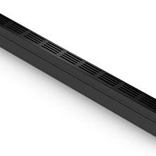 ACO slim-line goot 100 cm zwart aluminium rooster