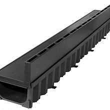 ACO hexa slotline sleufgoot zwart lengte 100 cm