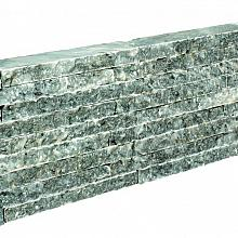 Antique blue stapelstrips 48x20x5 cm