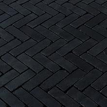 Gebakken DF 20x6,5x6,5 cm terra carbona antica